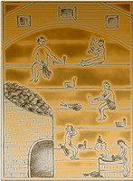 Кладка отопительных, варочных, отопительно-варочных и банных печей (каменок). Сооружение каминов и барбекю. Строительство бань в московской областию. Компания Раслово-Кладка